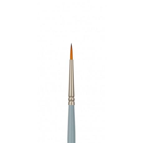 Круглая №0, кисть художественная синтетика длина 18см VISTA-ARTISTA