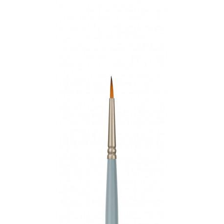 Круглая №00, кисть художественная синтетика длина18см VISTA-ARTISTA