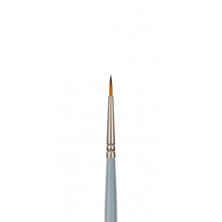 Круглая №000, кисть художественная синтетика длина18см VISTA-ARTISTA