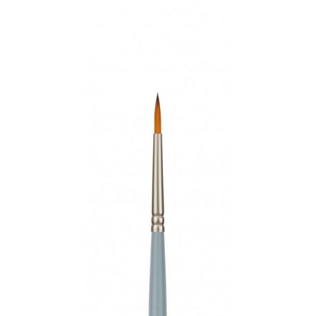 Круглая №1, кисть художественная синтетика длина 18,5см VISTA-ARTISTA
