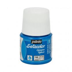 Кобальт синий, краска для темных и светлых тканей Setacolor 45мл PEBEO краска по ткани
