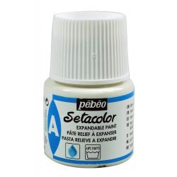 Объемная опухающая паста для ткани Setacolor 45мл PEBEO краска по ткани +t!