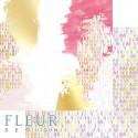 Красочный праздник, коллекция Pretty violet, бумага для скрапбукинга 30x30см, 190г/м Fleur Design