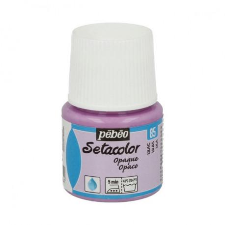 Сиреневый, краска для темных и светлых тканей Setacolor 45мл PEBEO краска по ткани