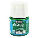 Зеленый, с эффектом замши краска для темных и светлых тканей Setacolor 45мл PEBEO краска по ткани