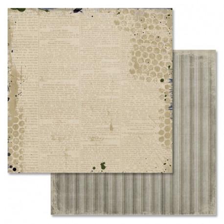 Новости, коллекция Идеальный мужчина, бумага для скрапбукинга 30,5x30,5см 180г/м ScrapMania