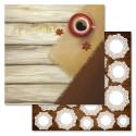 Эспрессо, коллекция Магия кофе, бумага для скрапбукинга 30,5x30,5см 180г/м ScrapMania