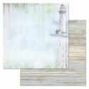 На берегу, коллекция Море, я скучала, бумага для скрапбукинга 30,5x30,5см 180г/м ScrapMania