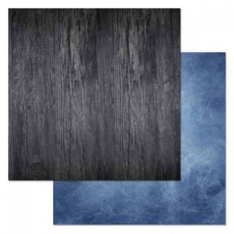 Дерево, коллекция Армейский альбом, бумага для скрапбукинга 30,5x30,5см 180г/м ScrapMania