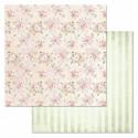 Любовь, коллекция Свадебный букет, бумага для скрапбукинга 30,5x30,5см 180г/м ScrapMania