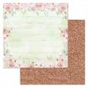 Шебби, коллекция Свадебный букет, бумага для скрапбукинга 30,5x30,5см 180г/м ScrapMania
