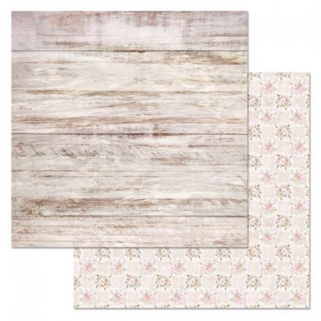 Доски, коллекция Свадебный букет, бумага для скрапбукинга 30,5x30,5см 180г/м ScrapMania