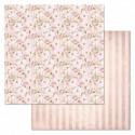 Аромат счастья, коллекция Свадебный букет, бумага для скрапбукинга 30,5x30,5см 180г/м ScrapMania