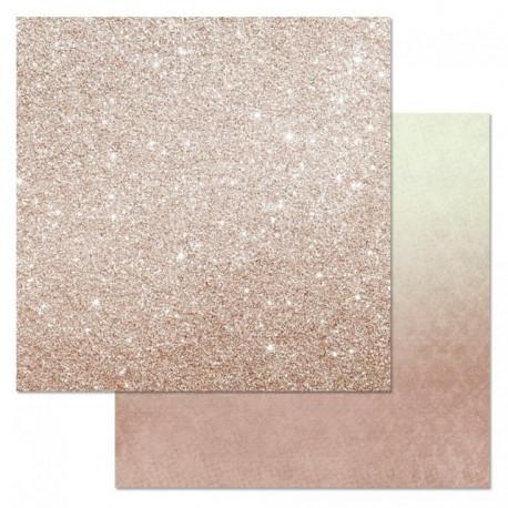 Розовый блеск, коллекция Фономикс.Свадебный букет, бумага для скрапбукинга 30,5x30,5см 180г/м SM