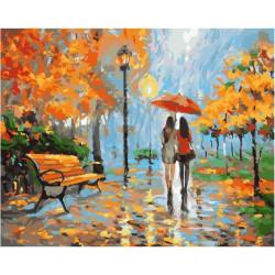 С подругой в любую погоду, картина по номерам на холсте 40х50см 30цв Original