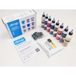 Тай-Дай 8 цветов, набор красителей Drop и аксессуаров для окрашивания