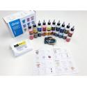 Тай-Дай 10 цветов, набор красителей Drop и аксессуаров для окрашивания