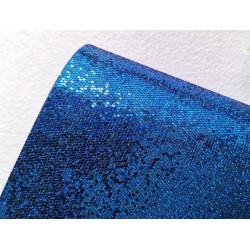 Синий, кожа искусственная соты 22х30(±1см)