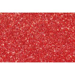 Красный, кожа искусственная с перламутровыми блестками 22х30(±1см)