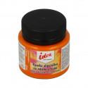Оранжевая (Orange), краска по ткани и коже акриловая 50мл IDEA VISTA-ARTISTA +t!