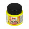 Лимонная флуоресцентная (Lemon fluo), краска по ткани и коже акриловая 50мл IDEA VISTA-ARTISTA +t!