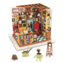 Книжный магазинчик, румбокс интерьерный конструктор 22,5х18,5х18мм