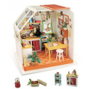 Уютная кухня, румбокс интерьерный конструктор 19х16,5х18,7см