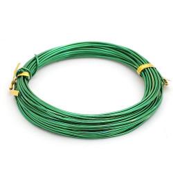 Зеленый, проволока для плетения d2мм 10м, WW-art