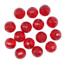 Красный, бусины стеклянные 10мм 16шт Astra Z-490