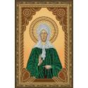 Матрона Московская икона, алмазная мозаика 20х30см 6цв неполная выкладка PO
