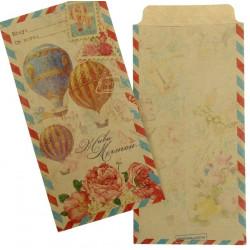 Живи мечтой, конверт подарочный 17,6х8,8см SL