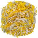 Желто-белый микс, наполнитель бумажный уп.50гр