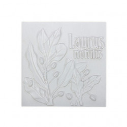 Лавровый лист, плитка для декорирования грунтованная 10х10х0,5см мдф Love2Art