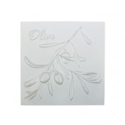 Оливы, плитка для декорирования грунтованная 10х10х0,5см мдф Love2Art