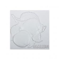 Яблоко, плитка для декорирования грунтованная 10х10х0,5см мдф Love2Art