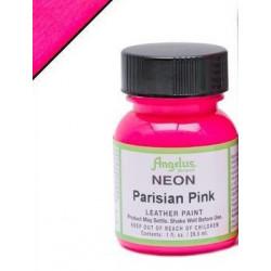 Parisian Pink Neon(Розовый Парижский Неон) краска для кожи акриловая 29,5мл Angelus
