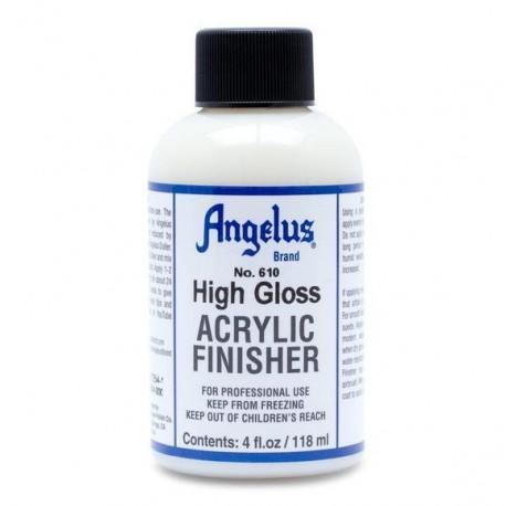 Angelus Acrylic Finisher Hight Gloss, лак глянцевый 118мл Angelus