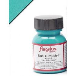 Blue Turquoise(Голубая Бирюза) краска для кожи акриловая 29,5мл Angelus