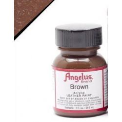 Brown(Коричневый) краска для кожи акриловая 29,5мл Angelus