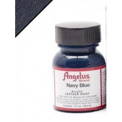 Navy Blue(Морской Синий) краска для кожи акриловая 29,5мл Angelus