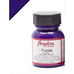 Purple(Пурпурный) краска для кожи акриловая 29,5мл Angelus