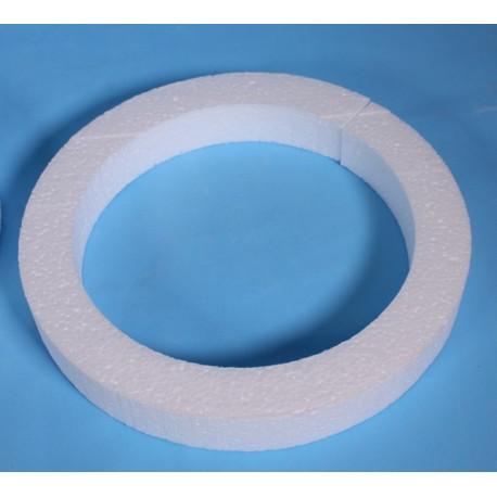 Венок плоский 44х6х3см Форма из пенопласта