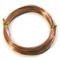 Св.коричневый, проволока для плетения d1.5мм 10м, Gаmma