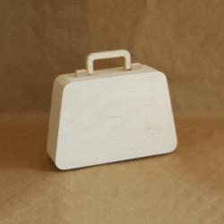 Саквояж малый с ручкой и магнитным замком, заготовка для декорирования 23х15,5х8см фанера 8-3мм NZ