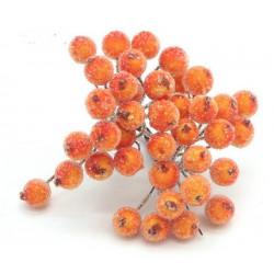 Оранжевый, сахарные ягодки 40шт