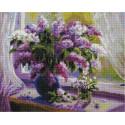 Весна (Воробьёва Ольга), алмазная мозаика на подрамнике 40х50см 35цв полная выкладка PO