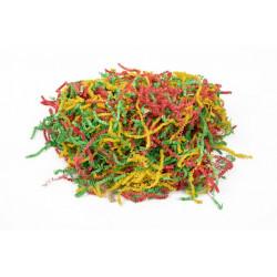 Красно-желто-зеленый микс, наполнитель бумажный уп.50гр