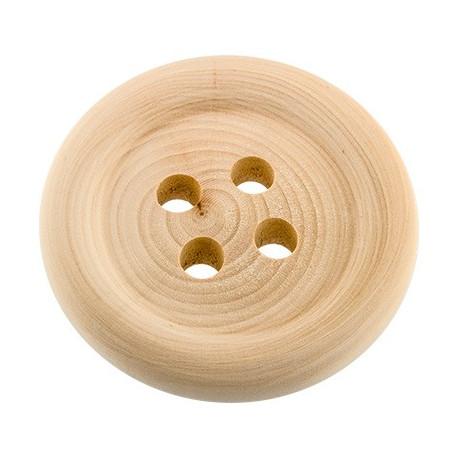 Пуговица, заготовка для декорирования дерево d 9см, Mr.Carving
