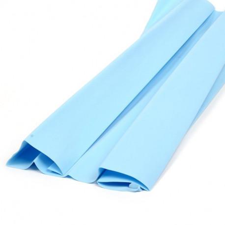 Голубой, фоамиран 0.8-1мм 60х70(±2см) Иран