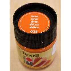 Абрикос, краска для светлых тканей акриловая 50мл Marabu Textil краска по ткани +t!